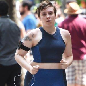 What Made Lena Dunham Love Running