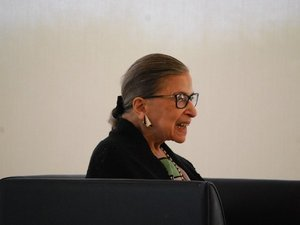 Ruth Bader Ginsburg Reflects On A Polarizing Term One Month Out