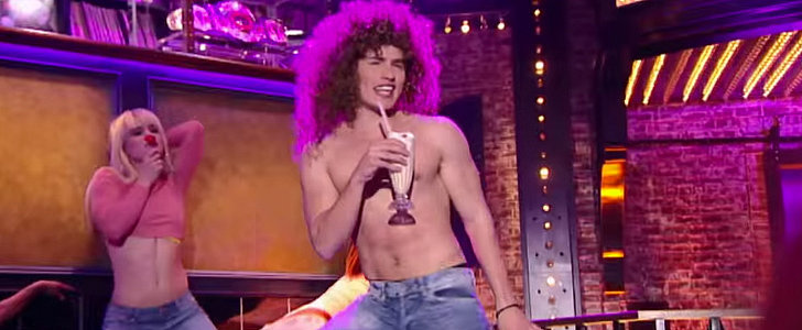 "Shirtless Gregg Sulkin Really Goes For It With This ""Milkshake"" Lip Sync"