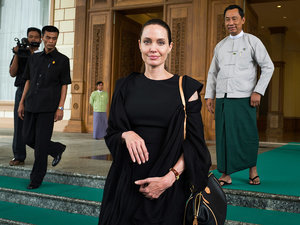 Angelina Jolie Pitt Arrives in Myanmar for Four-Day Humanitarian Service Trip Following Cambodia Visit