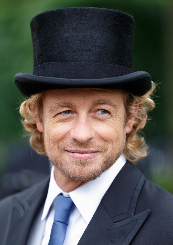 Not many people could pull off a top hat, either —but that's Simon for ya!