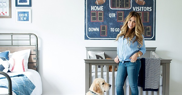 Baby Boy Nursery Tour: Jessie James And Eric Decker's Baby Boy Nursery Tour