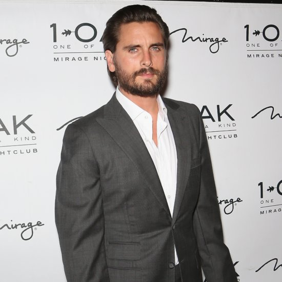 Scott Disick Dines Out With His Kids