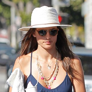 Alessandra Ambrosio Summer Maxi Dress