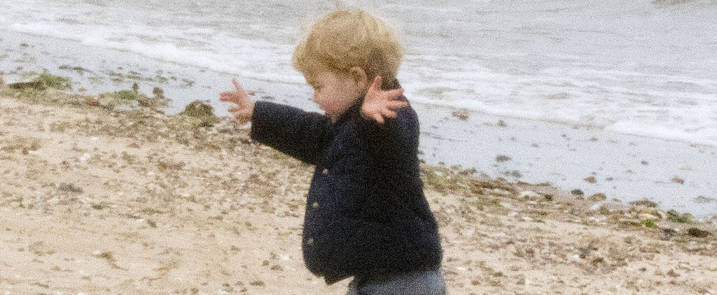 The Best Moments From Prince George's Adorable Beach Day!