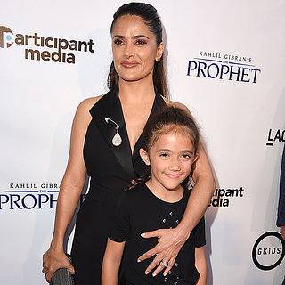 Salma Hayek and Her Daughter on the Red Carpet July 2015