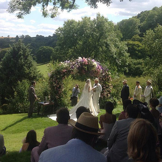 "Guy Ritchie and Jacqui Ainsley Say ""I Do"" in a Gorgeous Wedding"