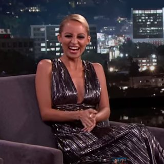 Nicole Richie on Jimmy Kimmel Live July 2015