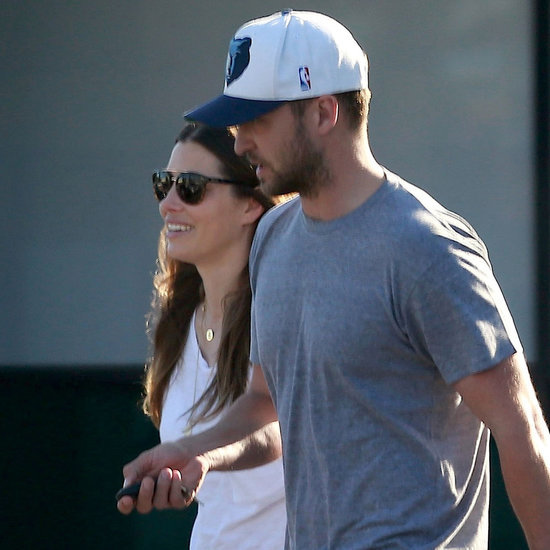 Justin Timberlake and Jessica Biel's First Photos Together Since Welcoming Silas!