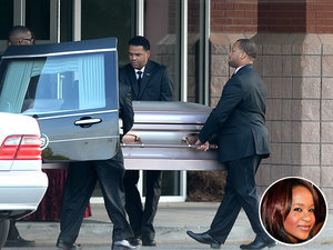 Bobbi Kristina Brown's Family Members Gather to Say Goodbye at Funeral