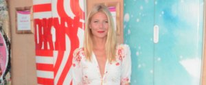 Gwyneth Paltrow Gives Us a Lesson in How to Sex Up a Maxi Dress