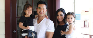 Mario Lopez's Son Wore a Saved by the Bell T-Shirt, and It Was Just Too Cute
