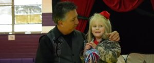 "Magician Performs the Most Amazing ""Trick"" For a Young Girl With Deployed Parents"