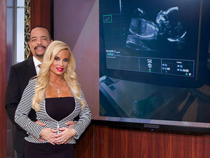 It'll Be a Girl (Named Chanel!) for Ice-T and Coco