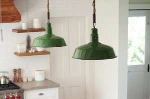 Design Sleuth: Rope Pendant Lights in a Summer Cottage