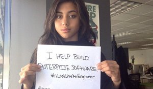 Women Challenge Gender Stereotypes With #ILookLikeAnEngineer