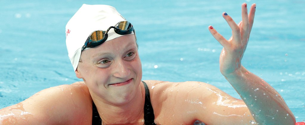 Gold Medalist Katie Ledecky Casually Breaks a World Record Without Trying