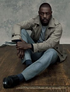 Idris Elba covers Maxim magazine