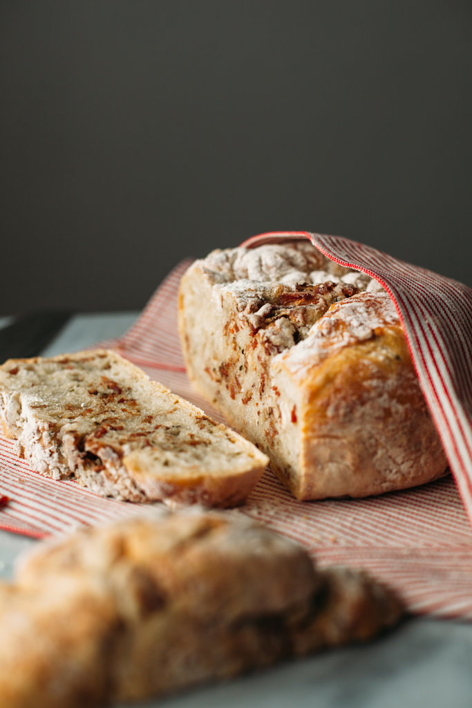 No-Knead Bacon-Chive Bread