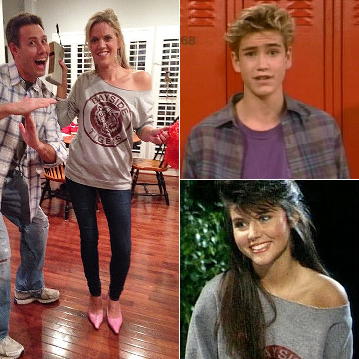 Zack Morris and Kelly Kapowski From Saved by the Bell | 12 ...