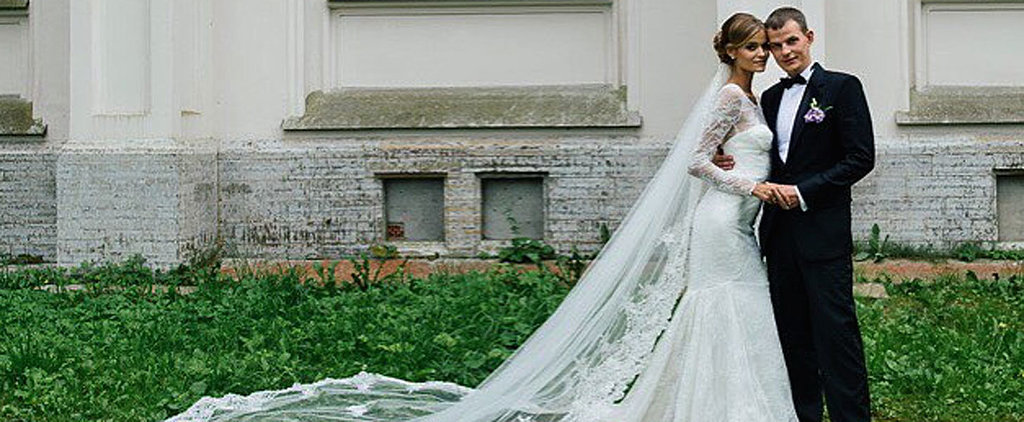 Victoria's Secret Angel Kate Grigorieva Lives Up to Her Professional Title in Heavenly Wedding Photos