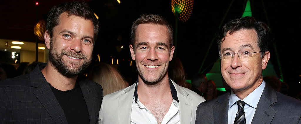 It's Dawson and Pacey! James Van Der Beek and Joshua Jackson Reunite