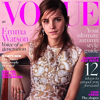 Emma Watson's British Vogue September Issue Cover