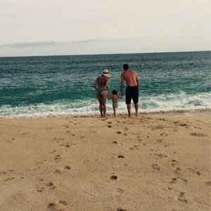 Channing Tatum and Jenna Dewan's Beach Day With Daughter