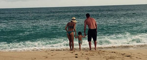 Channing and Jenna Have the Cutest Beach Day With Their Daughter, Everly