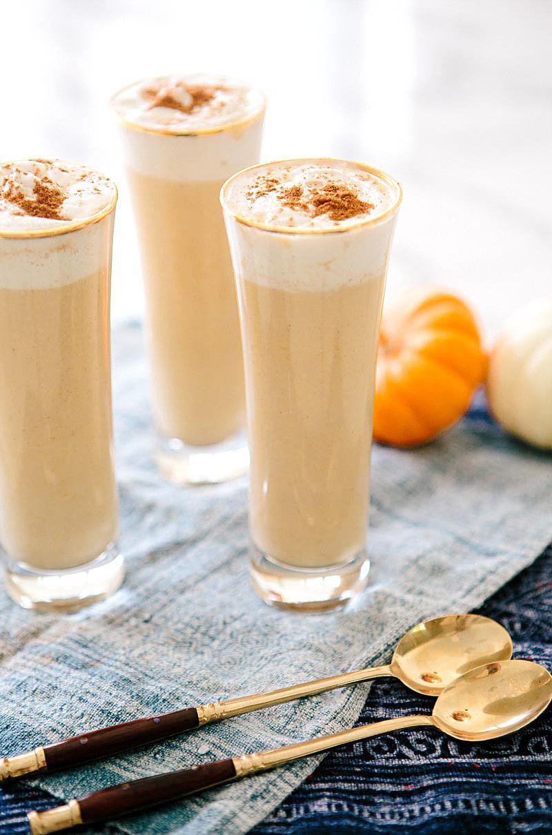 Boozy Pumpkin White Hot Chocolate | Your Ultimate Guide to Pumpkin ...