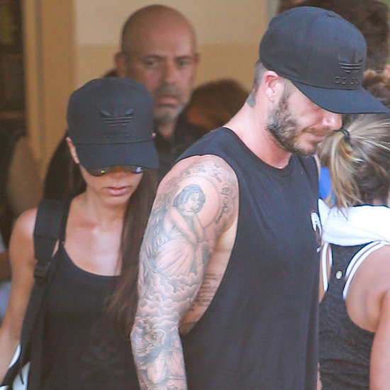 Beckham Family at SoulCycle