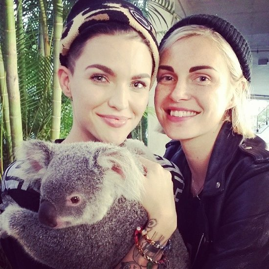 Phoebe dahl and ruby rose started dating
