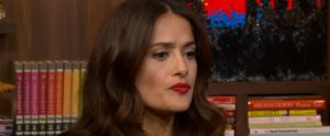 Watch Salma Hayek Hilariously Prove No Food Is Too Weird For Her Palate