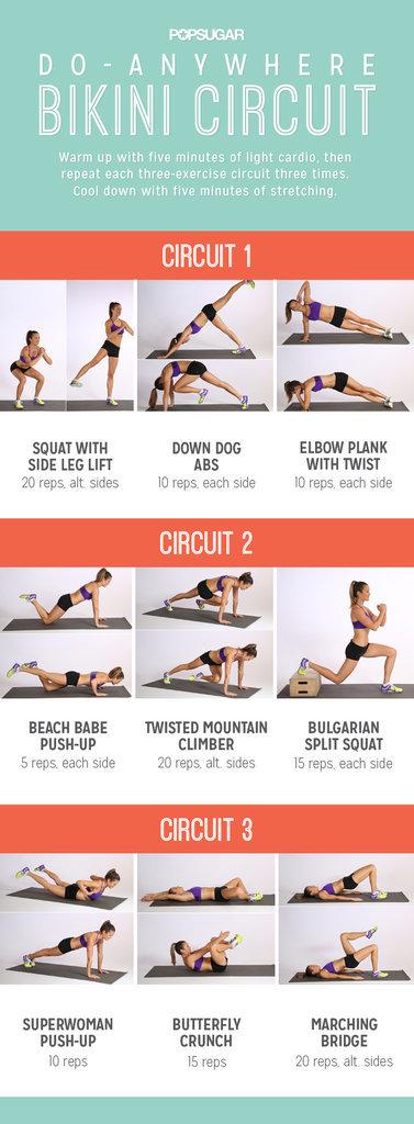 Do-Anywhere Bikini Circuit