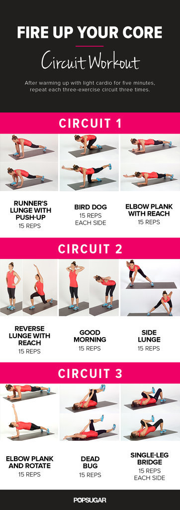 Fire Up Your Core Circuit Workout