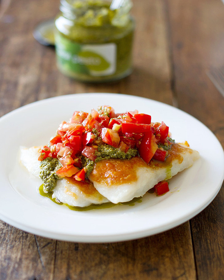 Parmesan Pesto Tilapia With Tomatoes | 60+ 1-Pan Dinners That Are ...