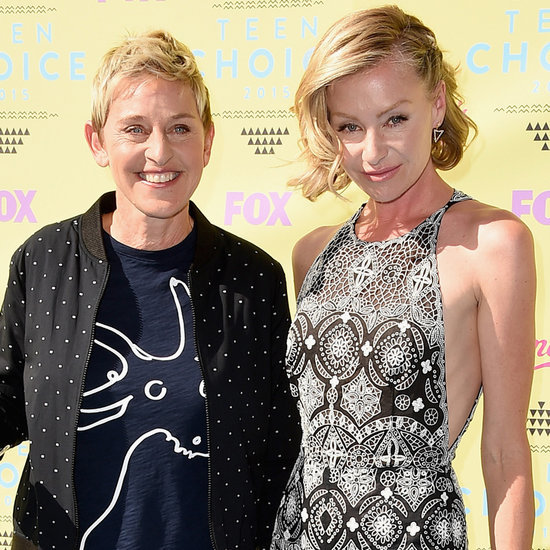 Portia De Rossi Wedding Hair: Celebrity Wedding Dresses And The Designers Who Created