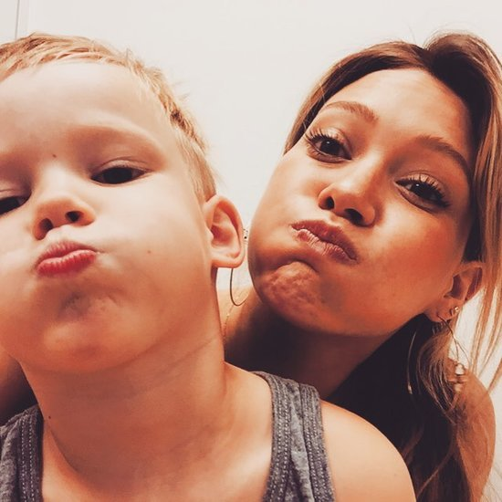Hilary Duff and Her Son Turn Their Trip to the Doctor's Into a Sweet Selfie Op
