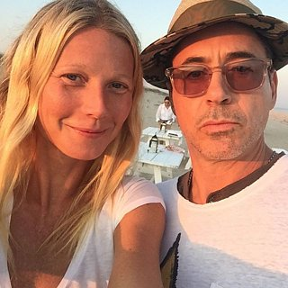 Gwyneth Paltrow Hits the Beach With Robert Downey Jr. in Sunny Selfie
