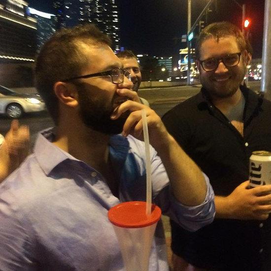 Friends Make Billboard of Genital Warts Cream in Vegas