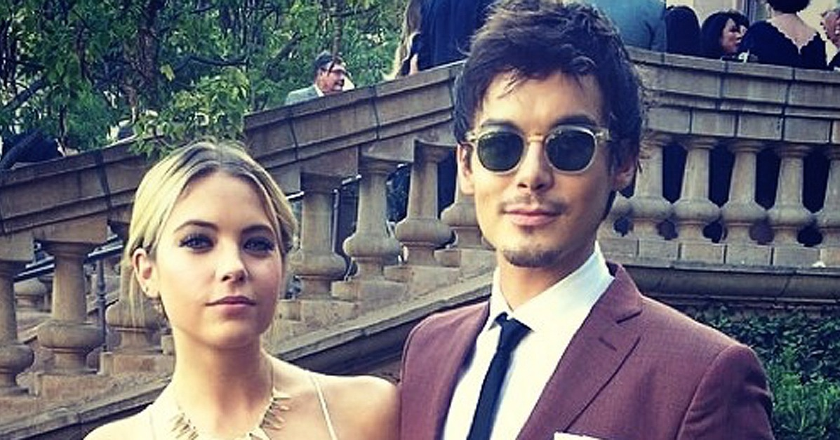 ashley benson and tyler blackburn relationship trust