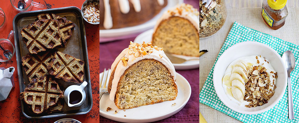 Banana Bread Pancakes, Waffles, Baked Oatmeal, and Much More