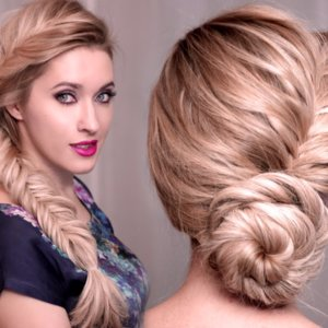 Elsa From Frozen Hair Tutorial
