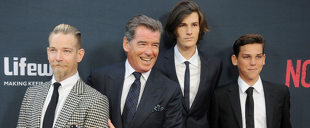 Pierce Brosnan Looks So Happy to Share the Spotlight With His Sons