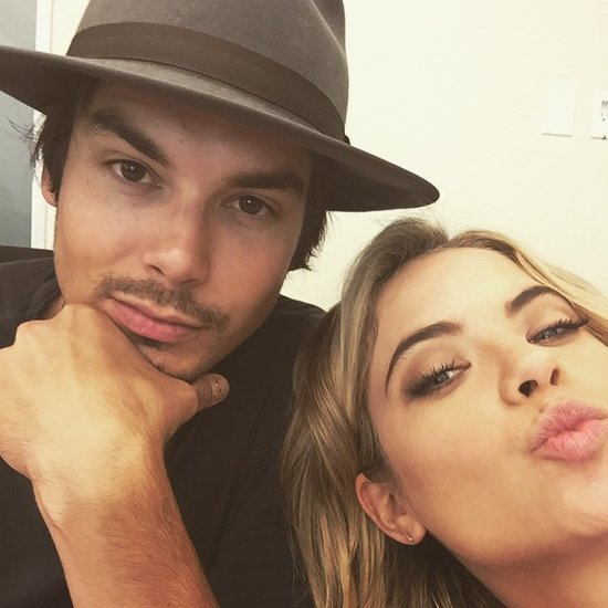 Ashley Benson and Tyler Blackburn Instagram Pictures