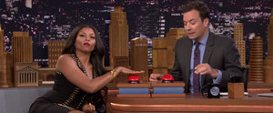 Taraji P. Henson Is Cookie All Day Long While Playing Fast Family Feud With Jimmy Fallon