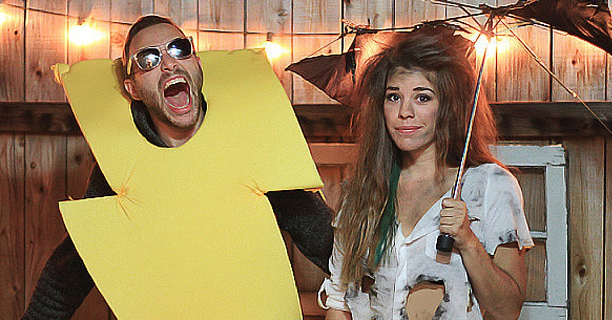Cheap diy couples halloween costumes popsugar smart living for Comcostume halloween homme original