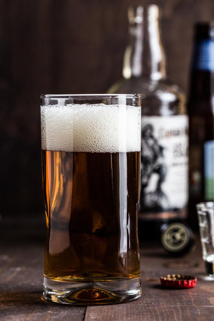 Rum-Spiked Cider