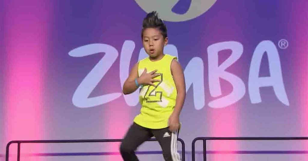This 8-Year-Old's Moves at the Zumba Convention Will Put You to Shame