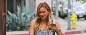Hilary Duff Just Stole Lizzie McGuire's Dungarees